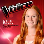 a thousand years (the voice performance) (single) - celia pavey
