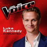 overjoyed (the voice performance) (single) - luke kennedy