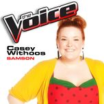 samson (the voice performance) (single) - casey withoos