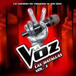 las batallas - la voz - v.a