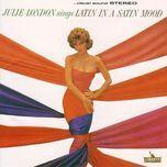 latin in a satin mood - julie london