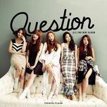question (mini album) - clc