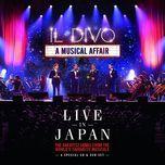 a musical affair: live in japan - il divo
