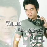 yeu em tung phut giay (single) - luong chan nam