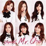 mr. chu (on stage) (japanese single) - a pink