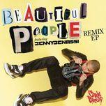 beautiful people (remix ep) - chris brown, benny benassi
