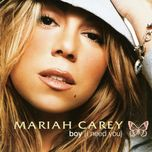 boy (i need you) (ep) - mariah carey