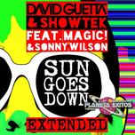 sun goes down (ep) - david guetta, showtek, magic!, sonny wilson