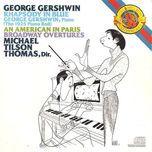 gershwin : mill / rhapsody in blue / michael tilson thomas - v.a