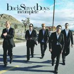 incomplete (single) - backstreet boys