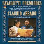 pavarotti sings rare verdi arias - luciano pavarotti