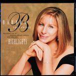 the concert-highlights - barbra streisand