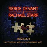 you and me (remixes pt. 2) - serge devant, rachael starr