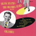 the columbia years (1943-1952): the complete recordings: volume 11 - frank sinatra