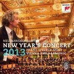 new year's concert 2013 / neujahrskonzert 2013 - franz welser-most, wiener philharmoniker