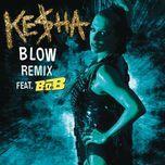 blow remix (single) - kesha, b.o.b
