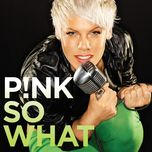 so what (single) - p!nk