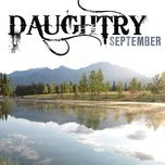 september (single) - daughtry