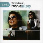 playlist: the very best of ronnie milsap - ronnie milsap