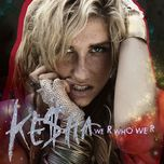 we r who we r (single) - kesha