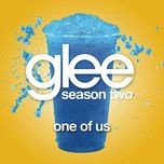 one of us (glee cast version) (single) - glee cast