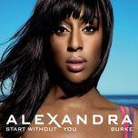 start without you (single) - alexandra burke, laza morgan