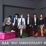aaa 10th anniversary best (cd3) - aaa