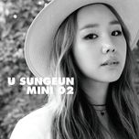 2nd mini album - yoo sung eun