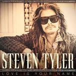 love is your name (single)  - steven tyler