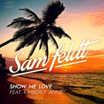 show me love (single)  - sam feldt, kimberly anne
