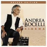 cinema (deluxe version) - andrea bocelli
