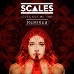 loves got me high (sonny fodera remix) (single)  - scales
