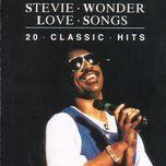 love songs 20 classic hits - stevie wonder