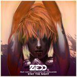 stay the night (single) - zedd