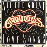 all the great love songs - commodores