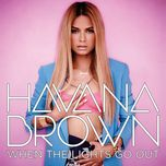 when the lights go out (ep) - havana brown