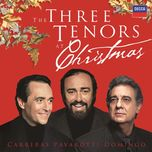 the three tenors at christmas - luciano pavarotti