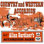 country and western accordion - allan gardiner and his accordion band