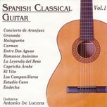 spanish classical guitar (vol. i) - antonio de lucena