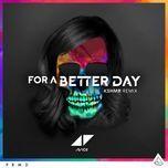 for a better day (kshmr remix) (single) - avicii