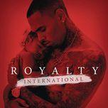 royalty international (ep) - chris brown