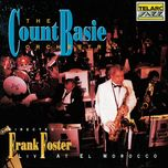 count basie orchestra live at el morocco - count basie and his orchestra
