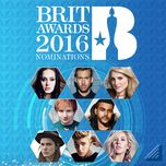 brit awards 2016 nominations - v.a