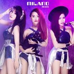 milano remix (single) - milano