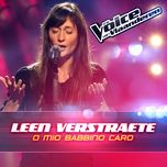 o mio babbino caro (the voice van vlaanderen 2016) (single)  - leen verstraete