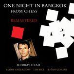 one night in bangkok (single)  - murray head
