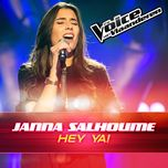 hey ya! (the voice van vlaanderen 2016) (single)  - janna salhoume
