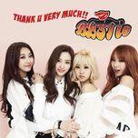 thank u very much (digital single) - bestie