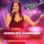 lean on (the voice van vlaanderen 2016) (single)  - annelies kerkhof