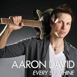 every sunshine (single)  - aaron david